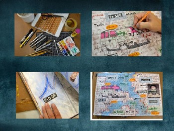 Art Journaling Inspiration, Techniques, and Prompts