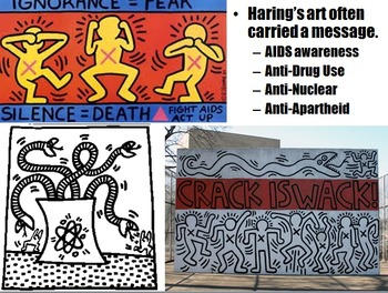 Art Keith Haring Lesson Art PowerPoint Keith Haring PowerPoint Art Haring Rubric