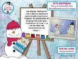 Art- La vie secrète des bonshommes de neige