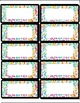 Art Science ... Classroom Labels - Animal Patterns Borders (6 pg, 2 sizes)