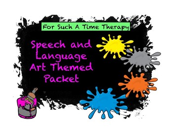 Art Language Therapy Pack