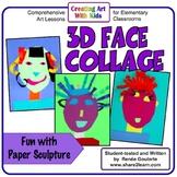 Art Lesson 3D Face Collage
