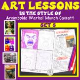 Art Lesson Arcimboldo Munch Cassatt Warhol