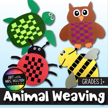 Elementary Art Lesson: Animal Paper Weaving