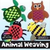 Elementary Art Lesson: Animal Paper Weaving