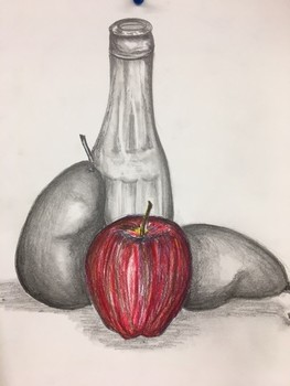 Art Lesson & History/Critique Printable: Still Life Drawing/Realism, Vermeer