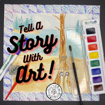 Art Lesson - Artists As Story Tellers- Art History- Fun Art Activities