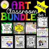 Art Lesson Bundle - Elements and Principle, Painting, Sub Lessons