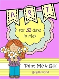 Art Lesson Bundles for 31 Days in May {37 Pages}