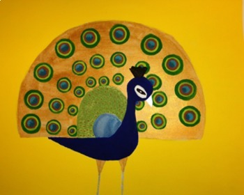 Acrylic Painting - Charley Harper Animals - Art with Geometry