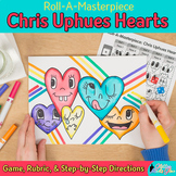 Art Lesson: Chris Uphues Hearts Roll A Dice Game, Art Sub