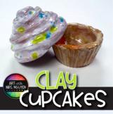 Art Lesson: Clay Cupcakes