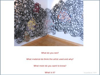 Art Lesson:  Collaboration, Cooperation and Installation Art