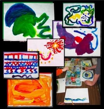 Art Lesson Color Mixing Exploration