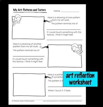 Art Lesson Creative Rubbings
