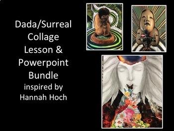 Art Lesson-Dada Collage Bundle