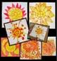 Art Lesson Design a Sun