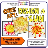 Art Lesson Design a Sun