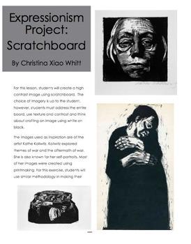 Art Lesson- Scratch Board