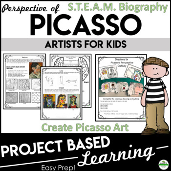Art Activities | Pablo Picasso | Growth Mindset | Project Based Learning