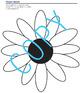 Art Lesson - Flower Color Wheels (elementary art)