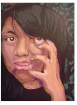 Art Lesson. High School Portrait Painting Unit. Rubric and Handouts.