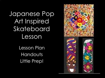 Art Lesson-Japanese Pop Art