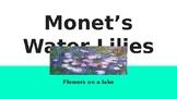 Art Lesson - MONET'S WATER LILIES