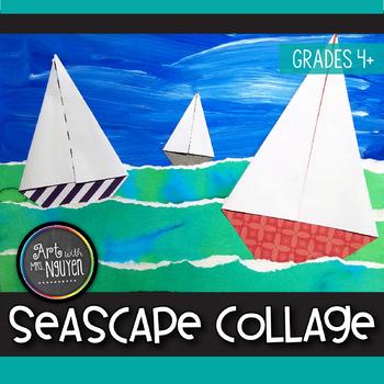 Art Lesson: Mixed-Media Seascape Collage