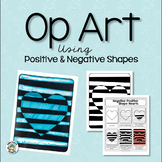 Art Lesson: Op Art Using Positive & Negative Shapes