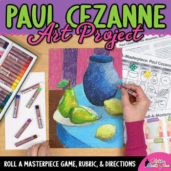 Art Lesson: Paul Cezanne Art History Game {Art Sub Plans f