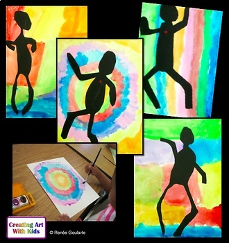 Art Lesson People Silhouettes Inspired by Henri Matisse