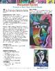 Art Lesson: Picasso Faces - Portraits on Black Paper With Oil Pastels