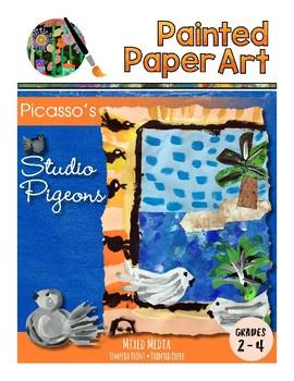 Art History Lessons: Picasso Studio Pigeons