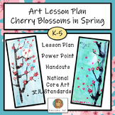 Art Lesson Plan: Cherry Blossoms in Spring