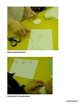Art Lesson Plan. Chihuly Seaform Sculpture Unit. Elementary Art Plan