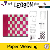 Art Lesson Plan. Elementary Art. Introduction to Weaving with Powerpoint