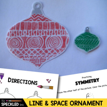 Art Lesson Plan. Elementary Art. Ornament with line & nega