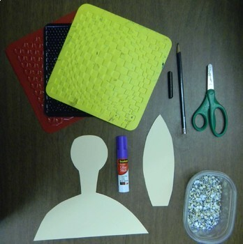 Art Lesson Plan. Elementary Art. Plump & Perky Turkey. Textured Turkeys.