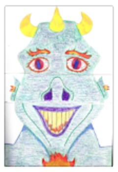 Middle School Art Lesson Plan Exquisite Corpse Surrealism