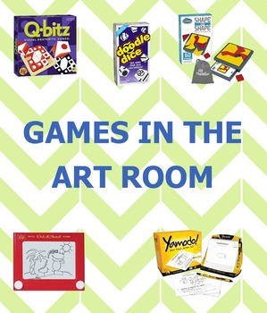 Art Lesson Plan Free Choice Day or Art Centers