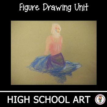High School Art Lesson Plan. Intro to Figure Drawing Unit & Presentation