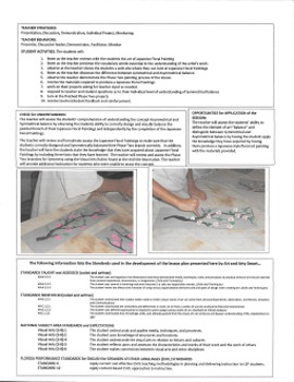 Art Lesson Plan - Art and Arty Smart Present Japanese Floral Painting