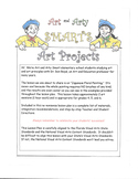 Art Lesson Plan - Art and Arty Smart Present Japanese Flor