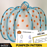 Art Lesson Plan. Patterned Pumpkin Painting. Project & Activities.