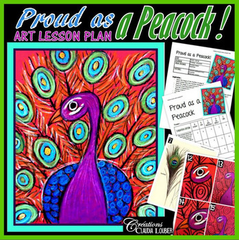Art Lesson Plan: Proud as a Peacock