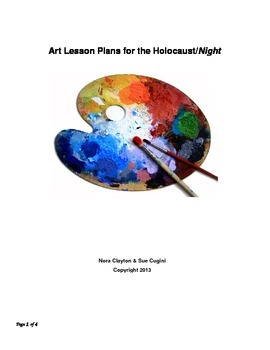 Art Lesson Plan Relating to the Holocaust and Night