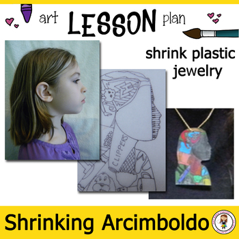 Art Lesson Plan. Shrinking Arcimboldo. Elementary School Lesson