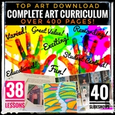 Art Lesson Plans for Middle School and High School. A whole year