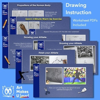 Art Lesson Powerpoint Drawing the Human Body in Motion